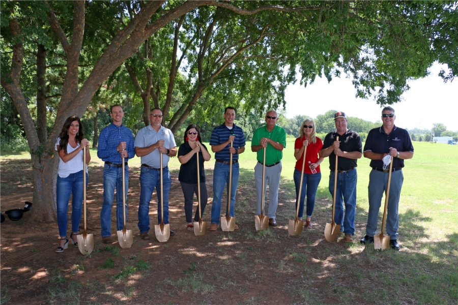 First National Bank and Trust Company, Tuttle Branch, Tuttle, OK Ground Breaking.