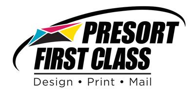 Presort First Class Company Logo