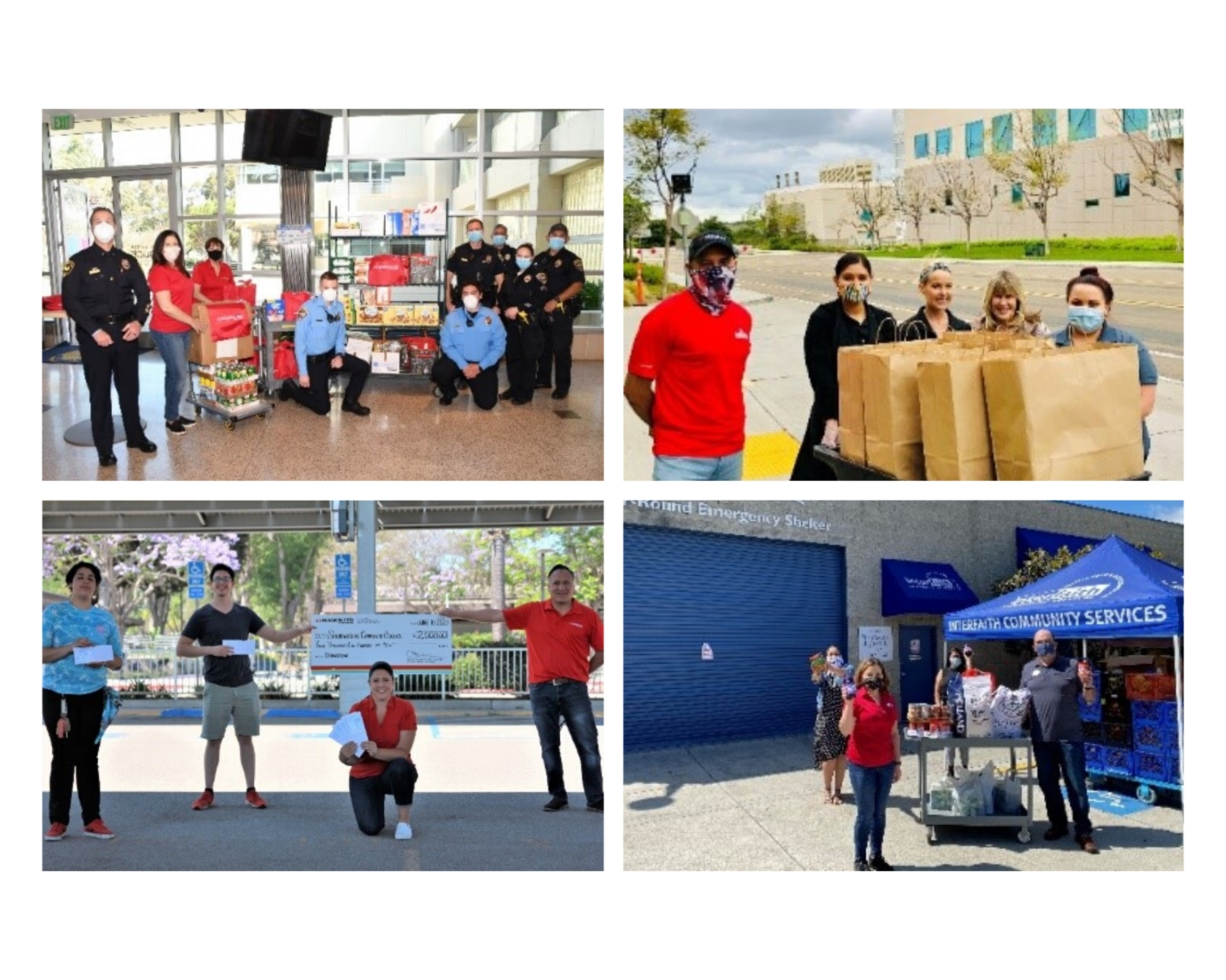 Our team gives back to nonprofits and schools hit hard during COVID-19