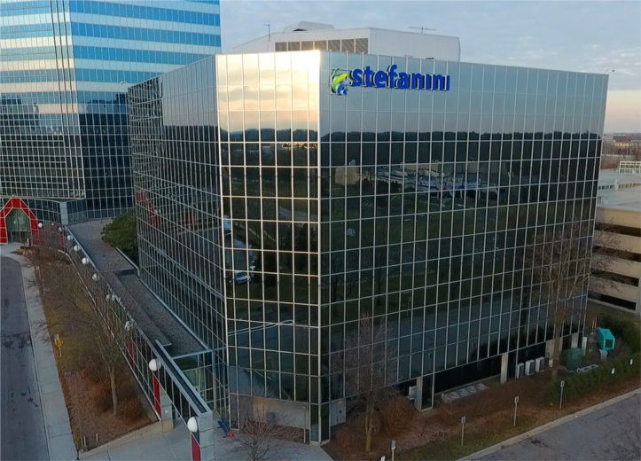 A picture of the front of our Southfield office, Stefanini's North American headquarters.