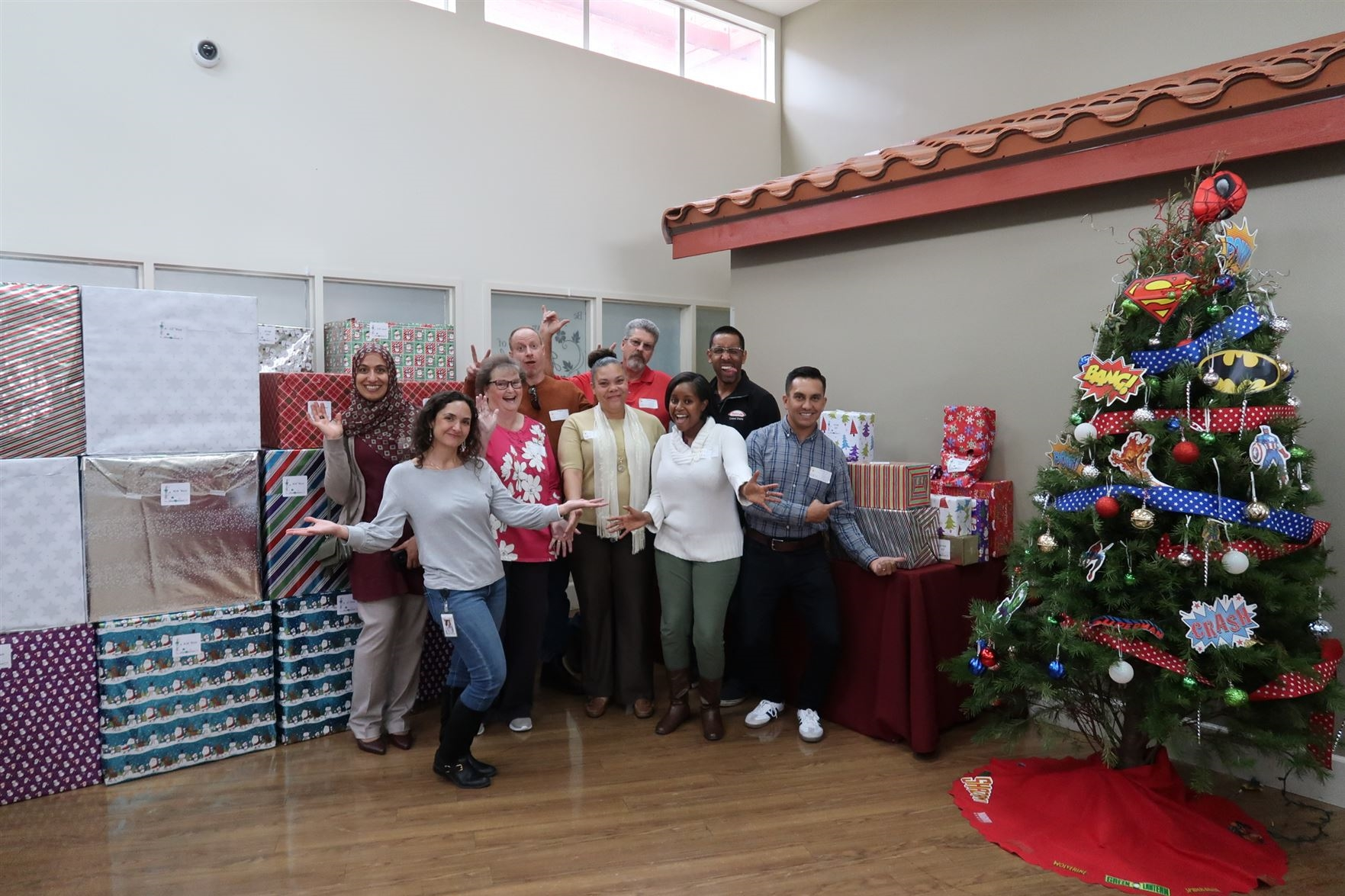 Takeda employees bring holiday cheer to SD Center for Children. Dec 2019
