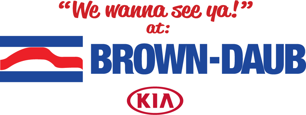 Brown-Daub Kia logo