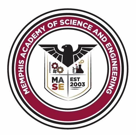 Memphis Academy of Science and Engineering logo