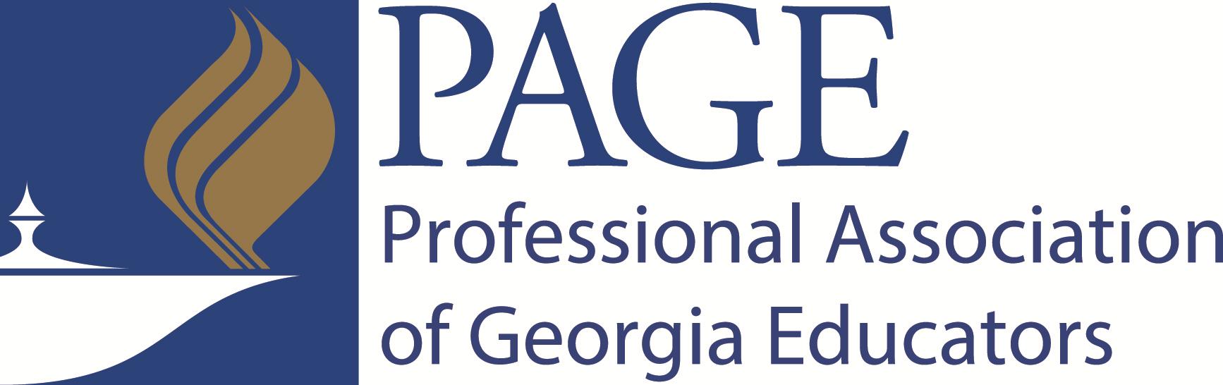 Professional Association of GA Educators (PAGE) Company Logo