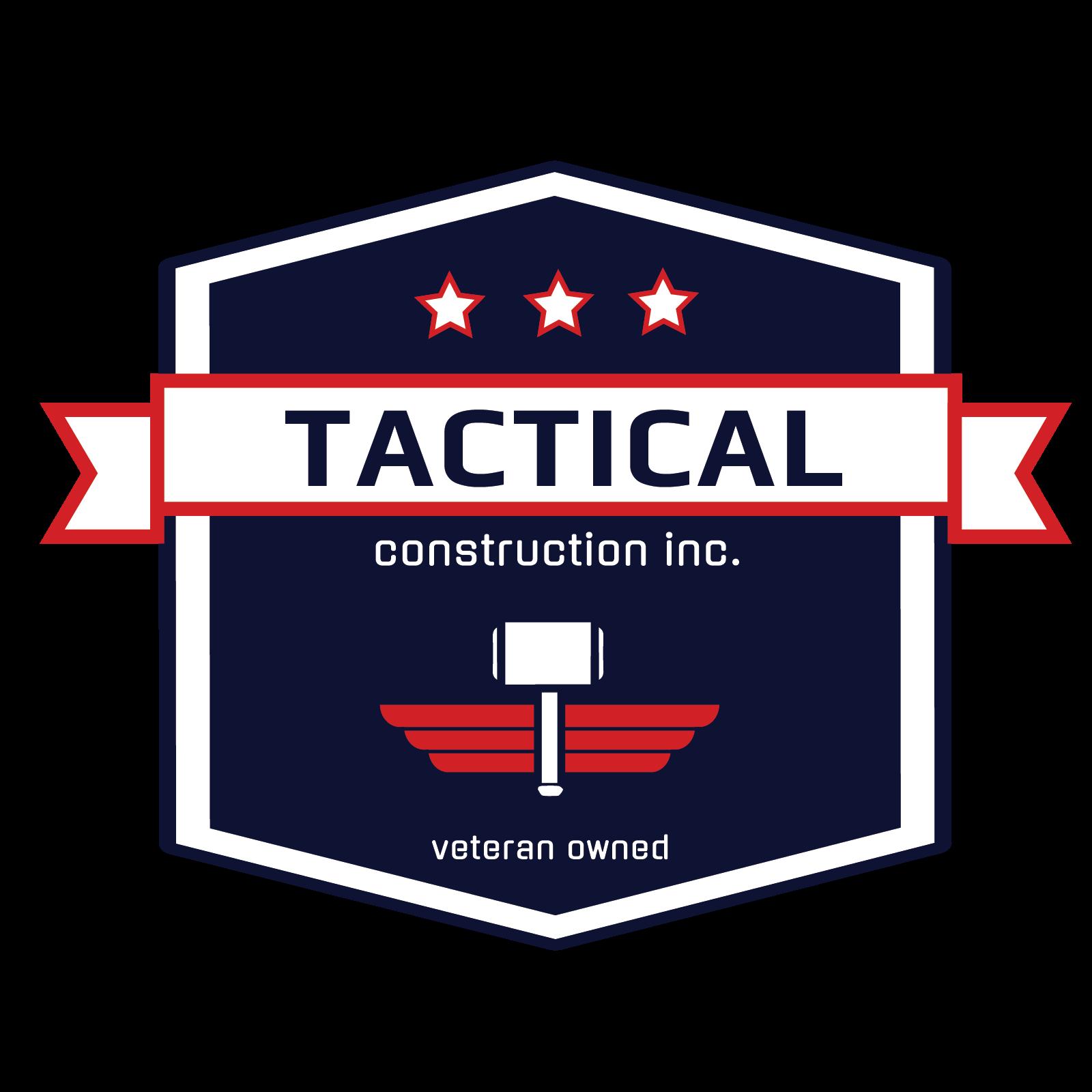 Tactical Construction Company Logo