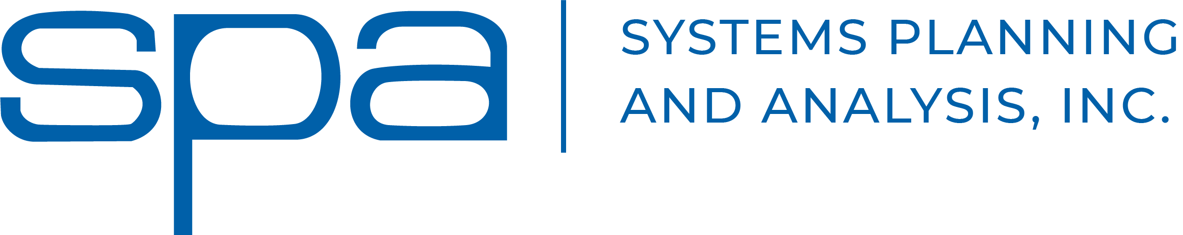 Systems Planning and Analysis, Inc. logo