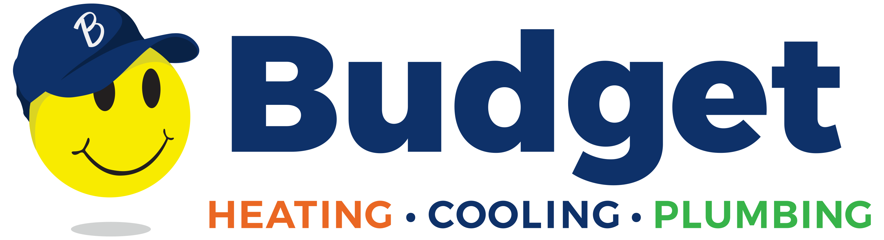 Budget Heating, Cooling and Plumbing logo