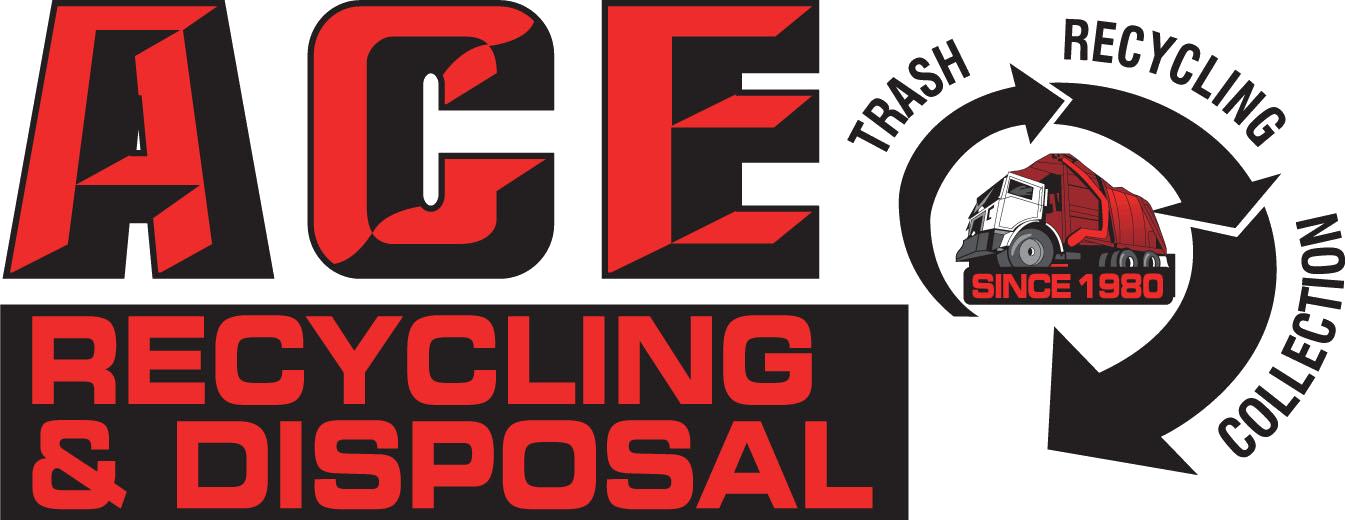 Ace Recycling & Disposal Company Logo