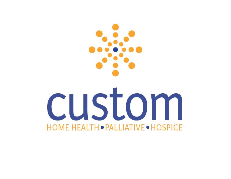 Custom Home Health, Hospice, and Palliative Care logo