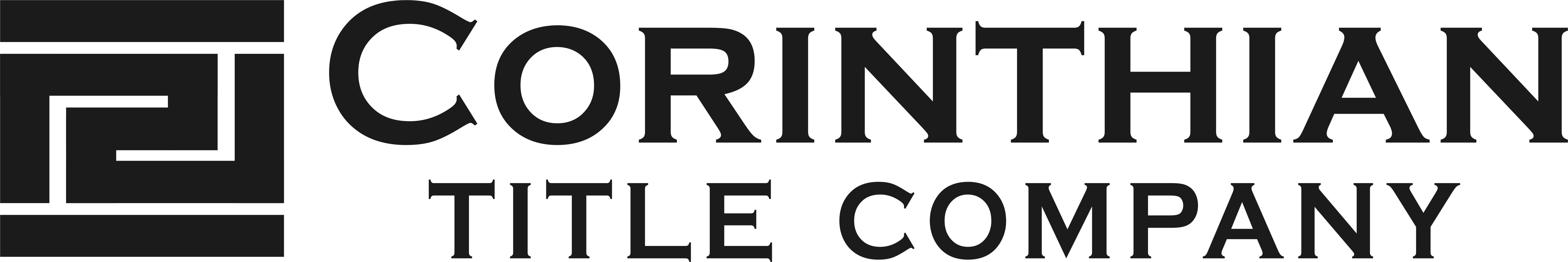 Corinthian Title Company logo