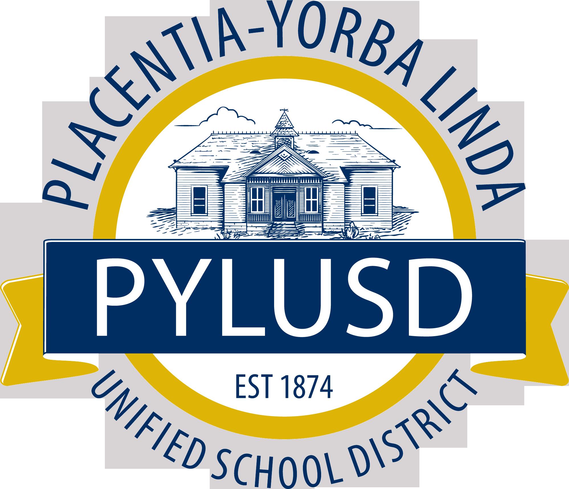 Placentia-Yorba Linda USD logo
