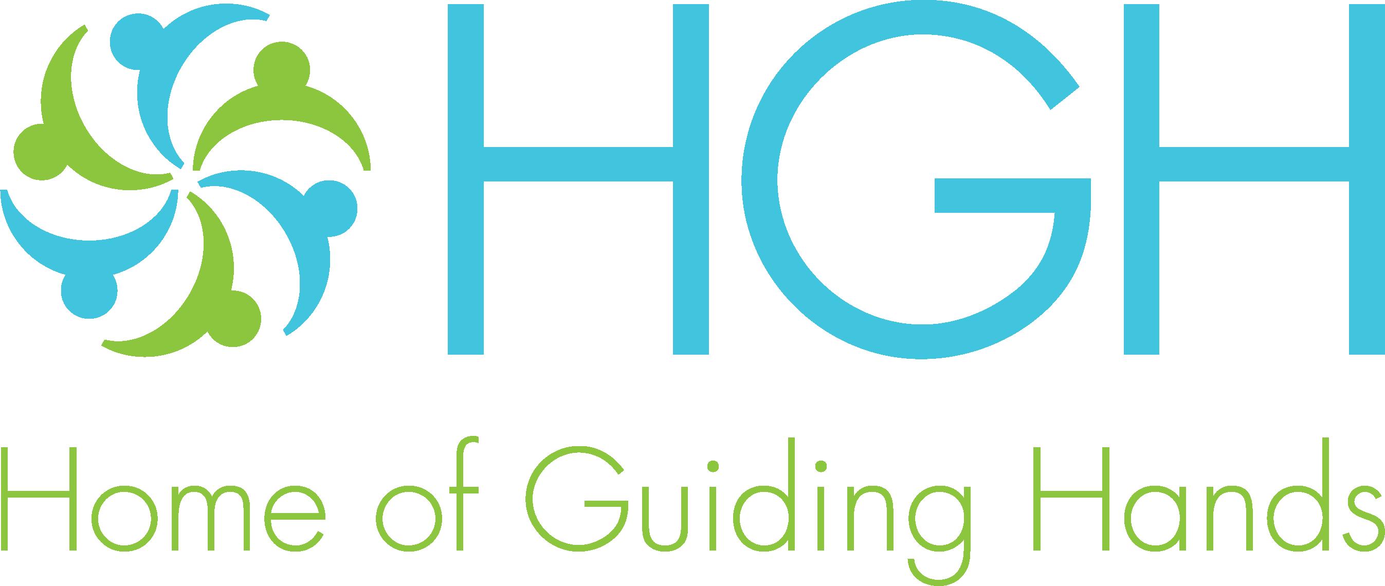 Home of Guiding Hands logo