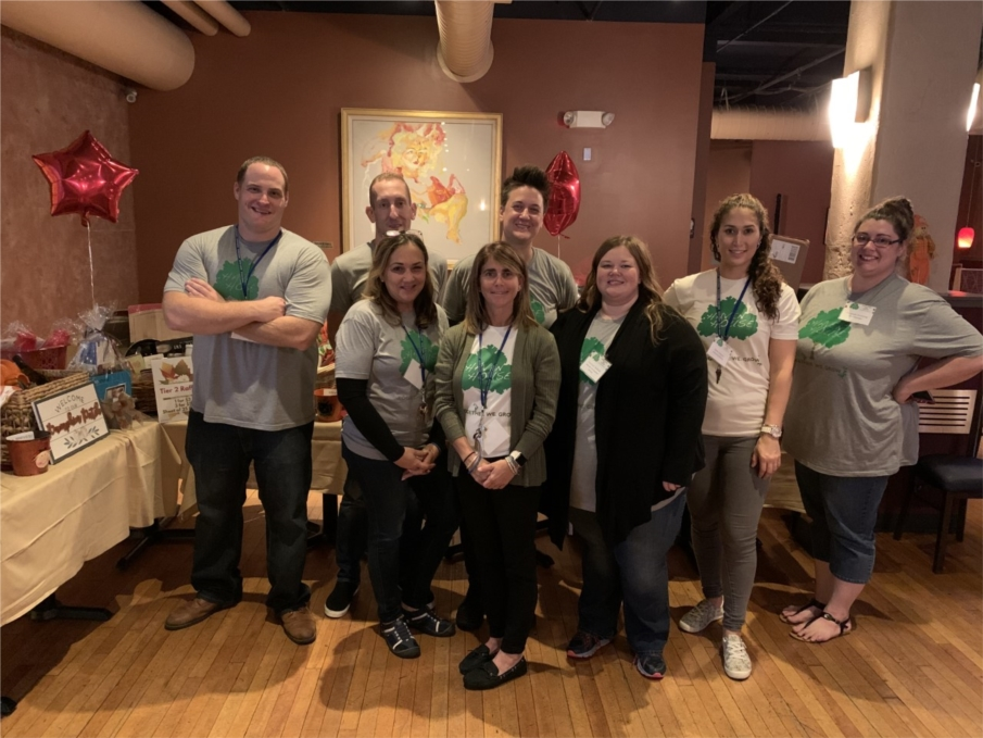 Some of our leadership team at our 2019 Fall Fundraiser at Allentown Brew Works. What a successful and fun night!