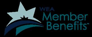 WEA Member Benefits logo