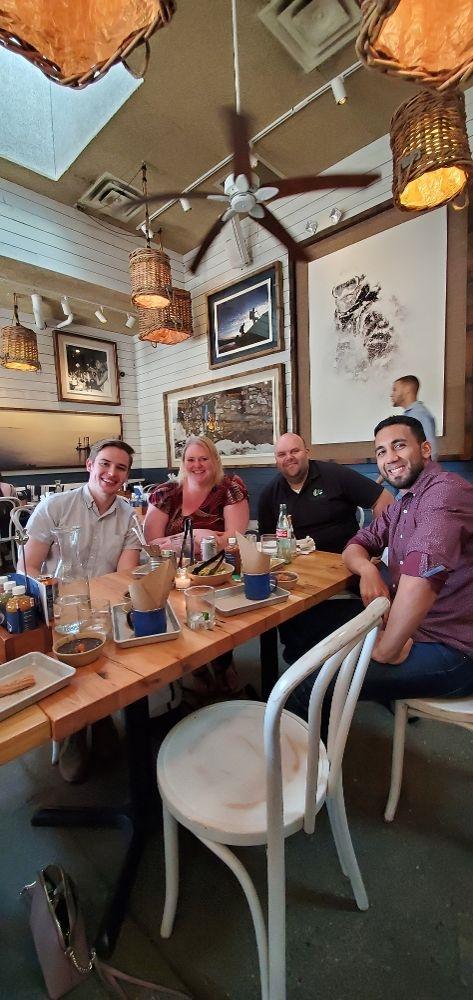 Company outing at Bar Taco!