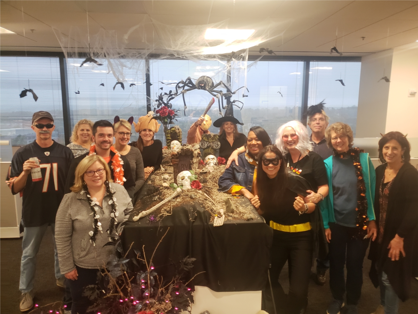 NASCO Finance and their spook-tacular holiday spirit and décor is a shining example of the creative ways ours teams collaborate with each other.