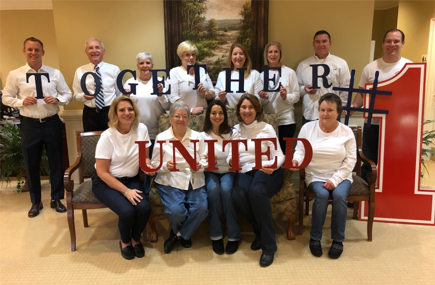 """The Buford, GA team celebrates """"Together United"""" for Employee Appreciation Day."""