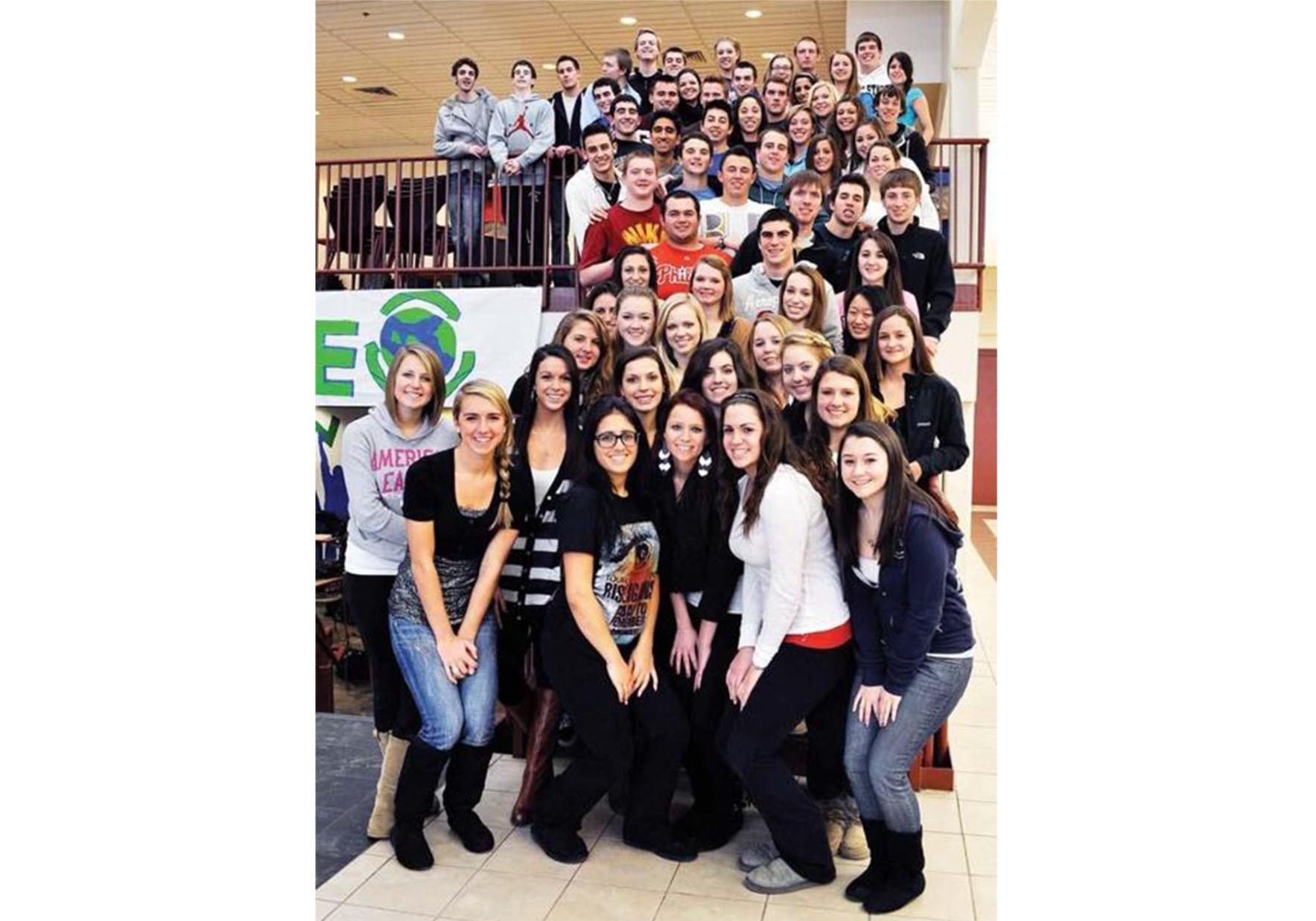 Garnet Valley High School celebrates earth day!
