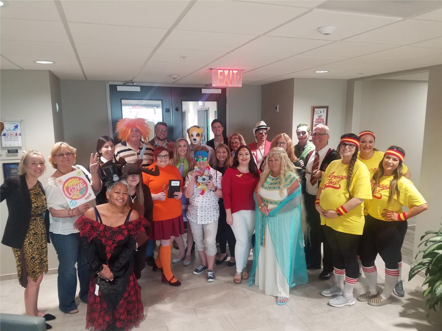 St. Petersburg Office Halloween 2019