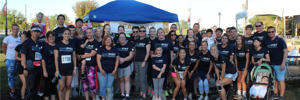 Each year, PHLY employees make a significant impact in the lives of children battling cancer and their families by raising money for the Children's Hospital of Philadelphia (CHOP). This year, TEAMPHLY donated $125,000 to CHOP, including $57,477.31 fundraised by Home Office employees. On September 29th, PHLY employees and their families participated in the Parkway Run & Walk benefiting CHOP's Cancer Center.