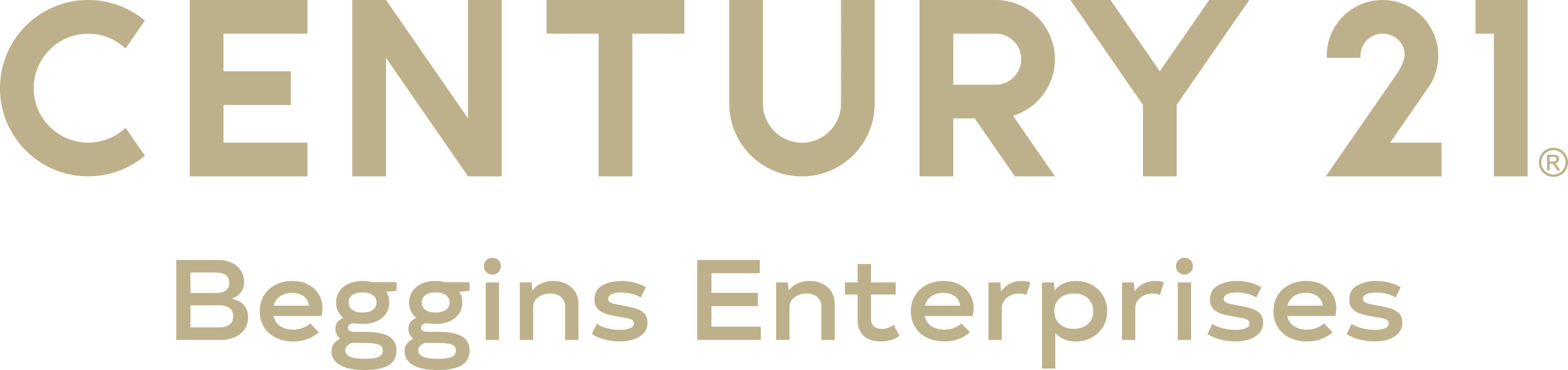 CENTURY 21 Beggins Enterprises Company Logo