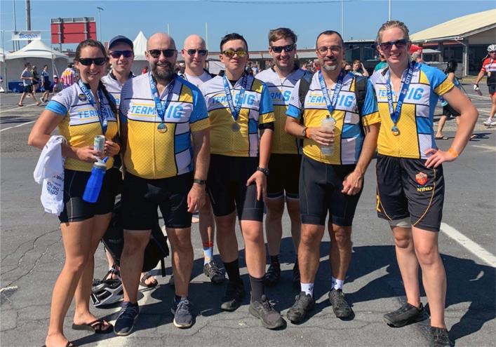 Team SIG at Bike MS: City to Shore