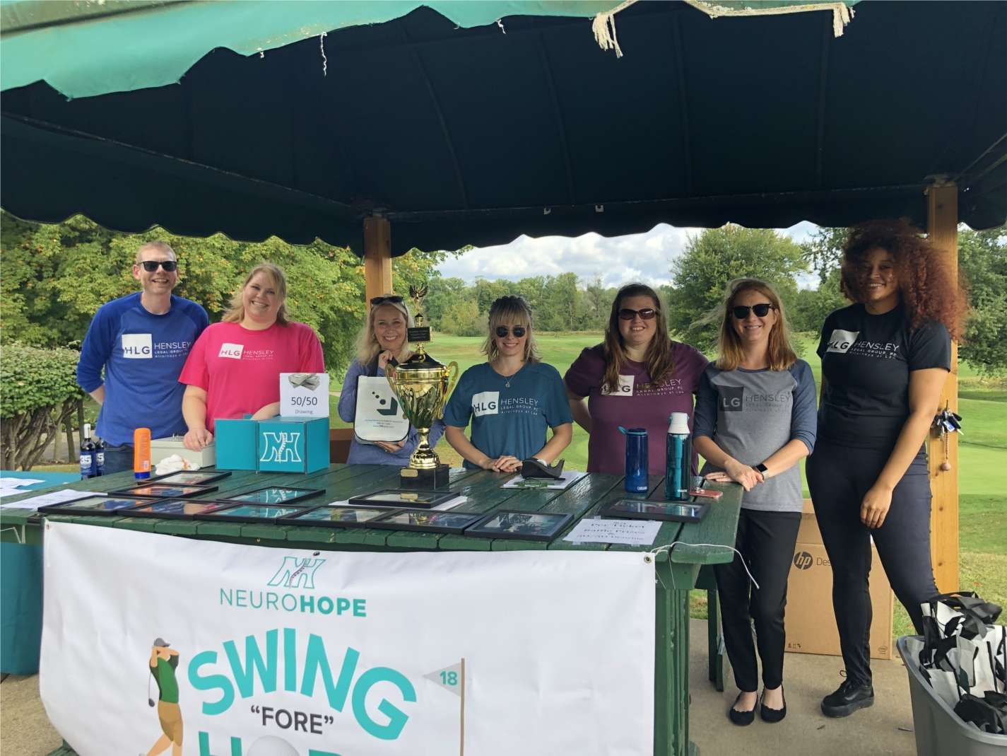 Annual golf outing to benefit NeuroHope, a local organization that provides rehab for spinal cord injury patients.