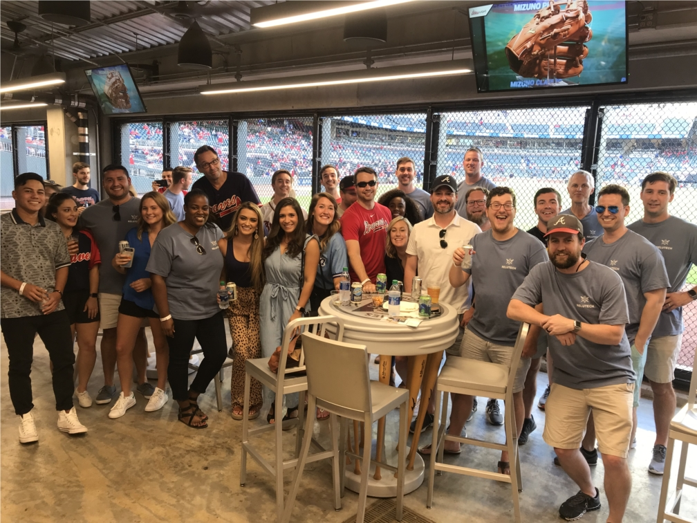 Team outing to the Braves Game for our 6th Year Anniversary as a company!