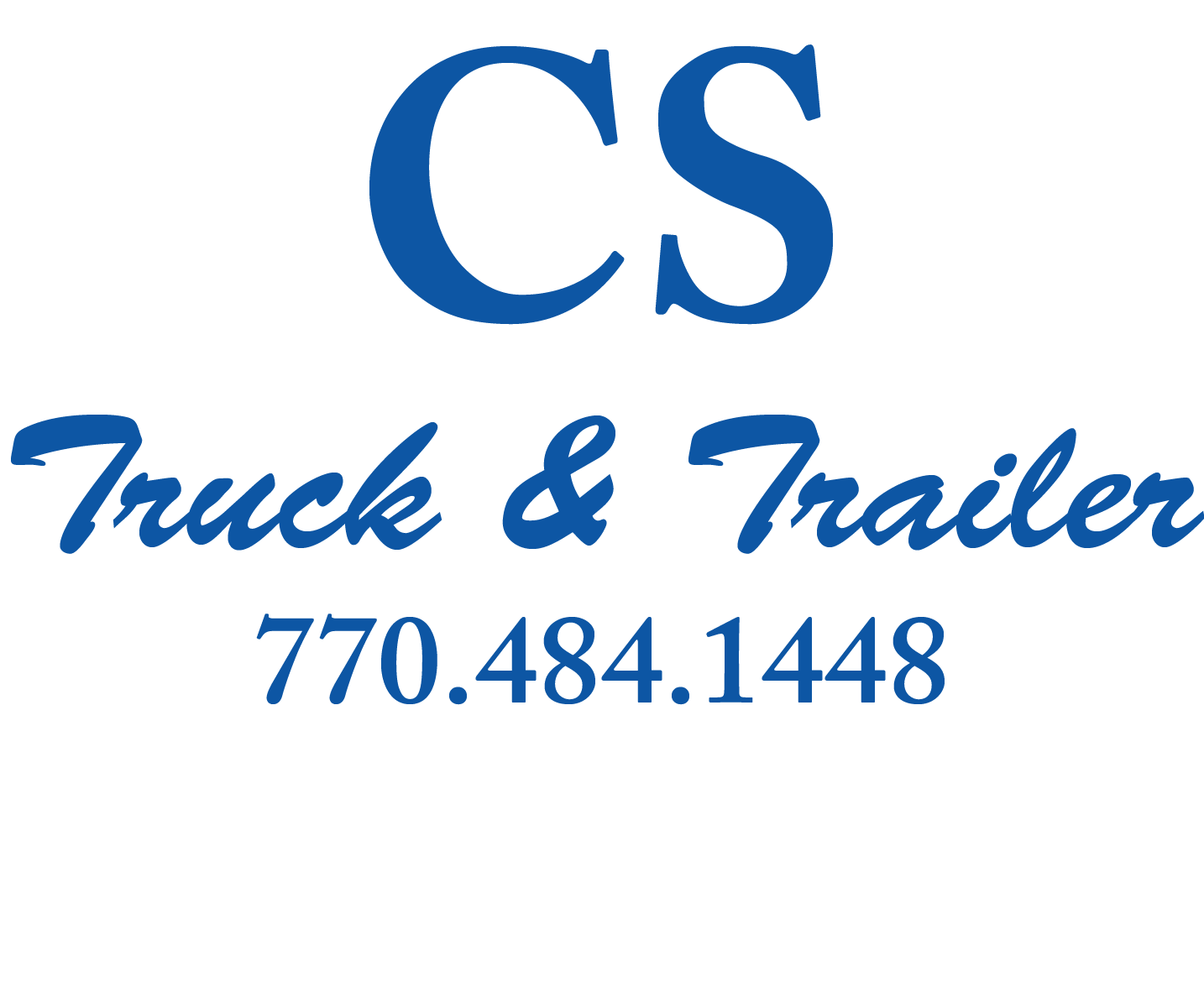 CS Truck and Trailer Company Logo