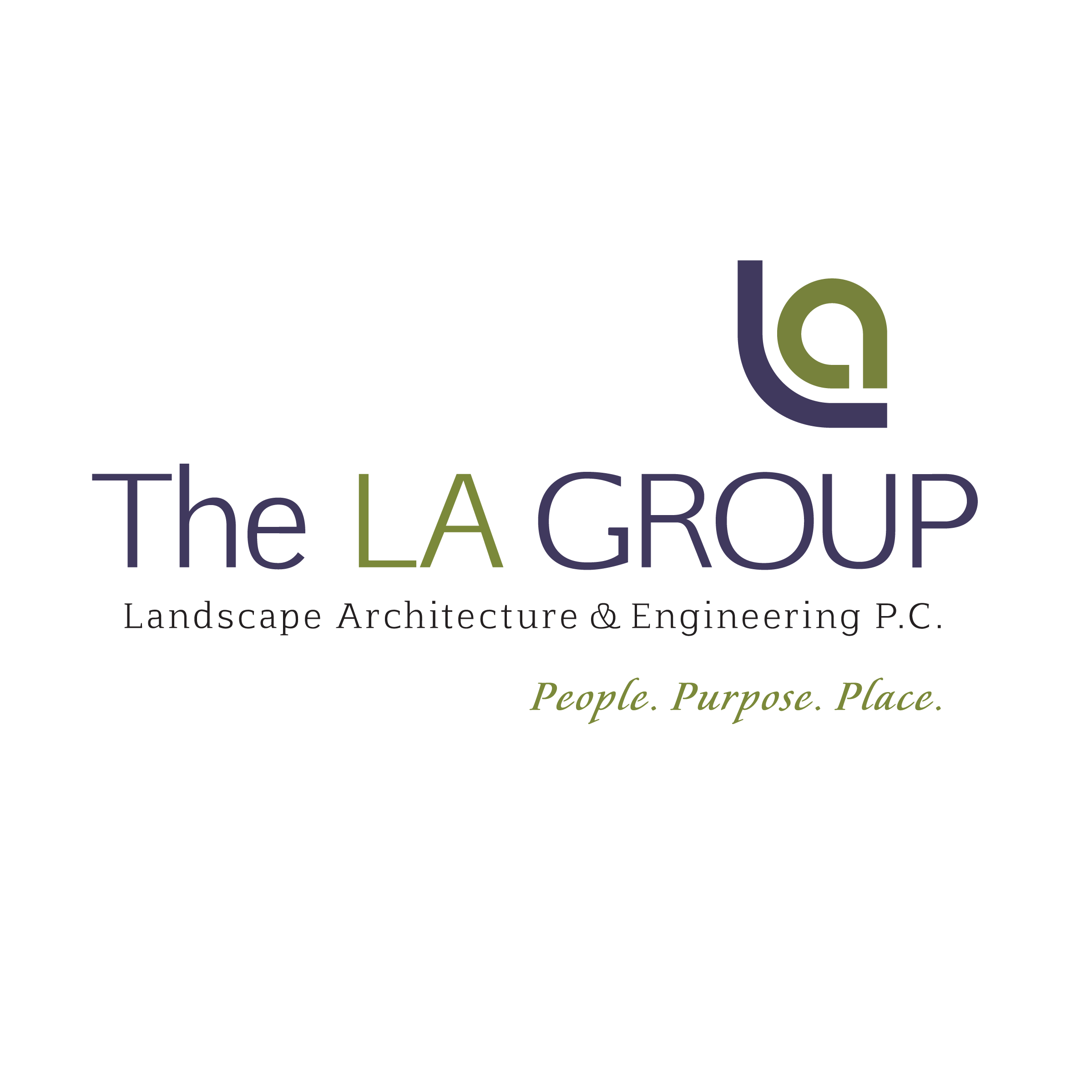 The LA Group Landscape Architecture and Engineering, P.C. logo