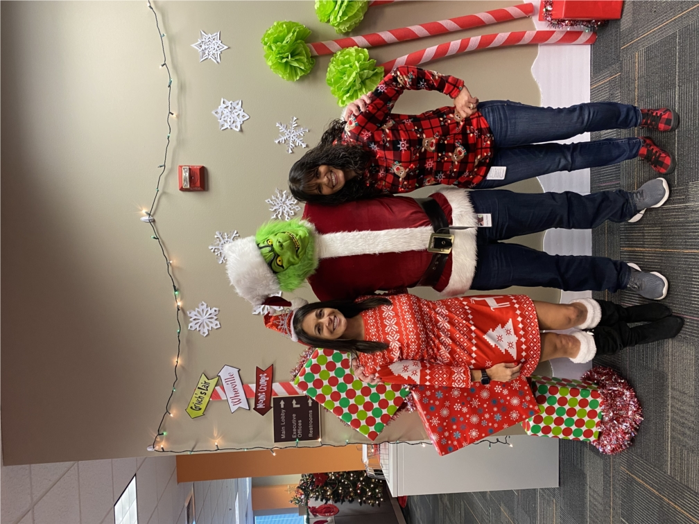 Holiday Fun! CareCentrix team members enjoying the holiday spirit and spreading some good cheer in their festive attire!