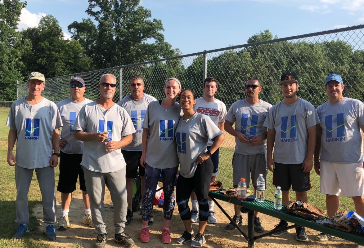 Hankin Group softball team