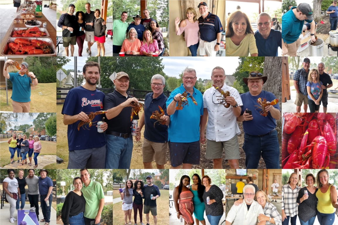 Annual Lobster Fest held in Alpharetta, GA for Northpoint Employees and Family Members