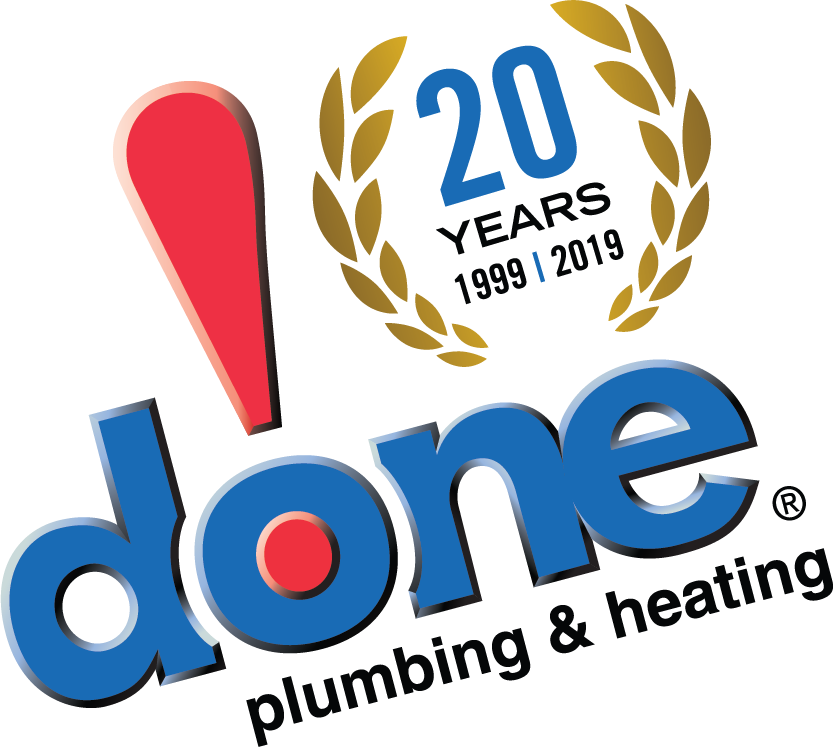 Done Plumbing & Heating Company Logo