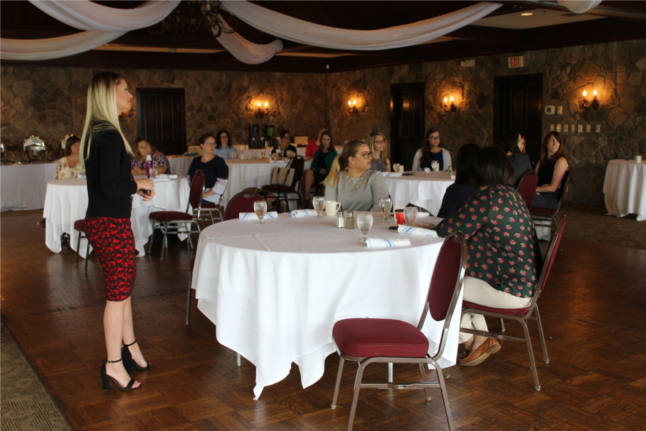 The EARN Committee (Employee Advancement and Retention Network) regularly hosts training and educational sessions, and requests feedback from employees to determine and design topics for future sessions.