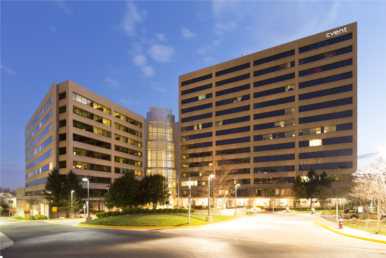 Cvent HQ in McLean, VA - just steps from the Greensboro Metro Station