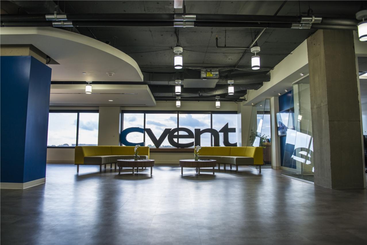 Cvent HQ Lobby