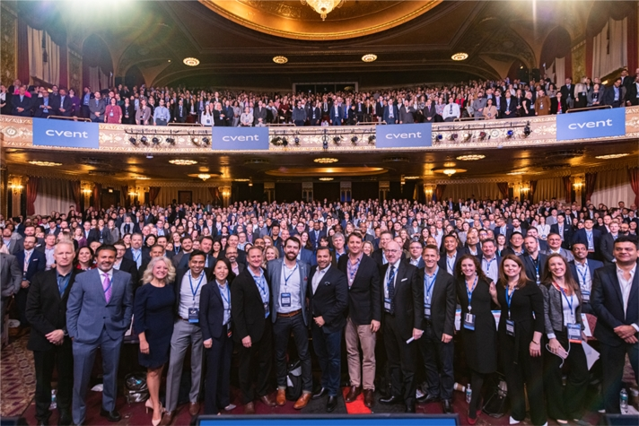 Our last Companywide Event in early February 2020 at the Warner Theatre in downtown Washington, D.C.