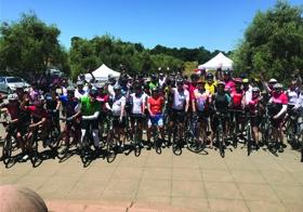 Keysight employees participate in Tour de Keysight