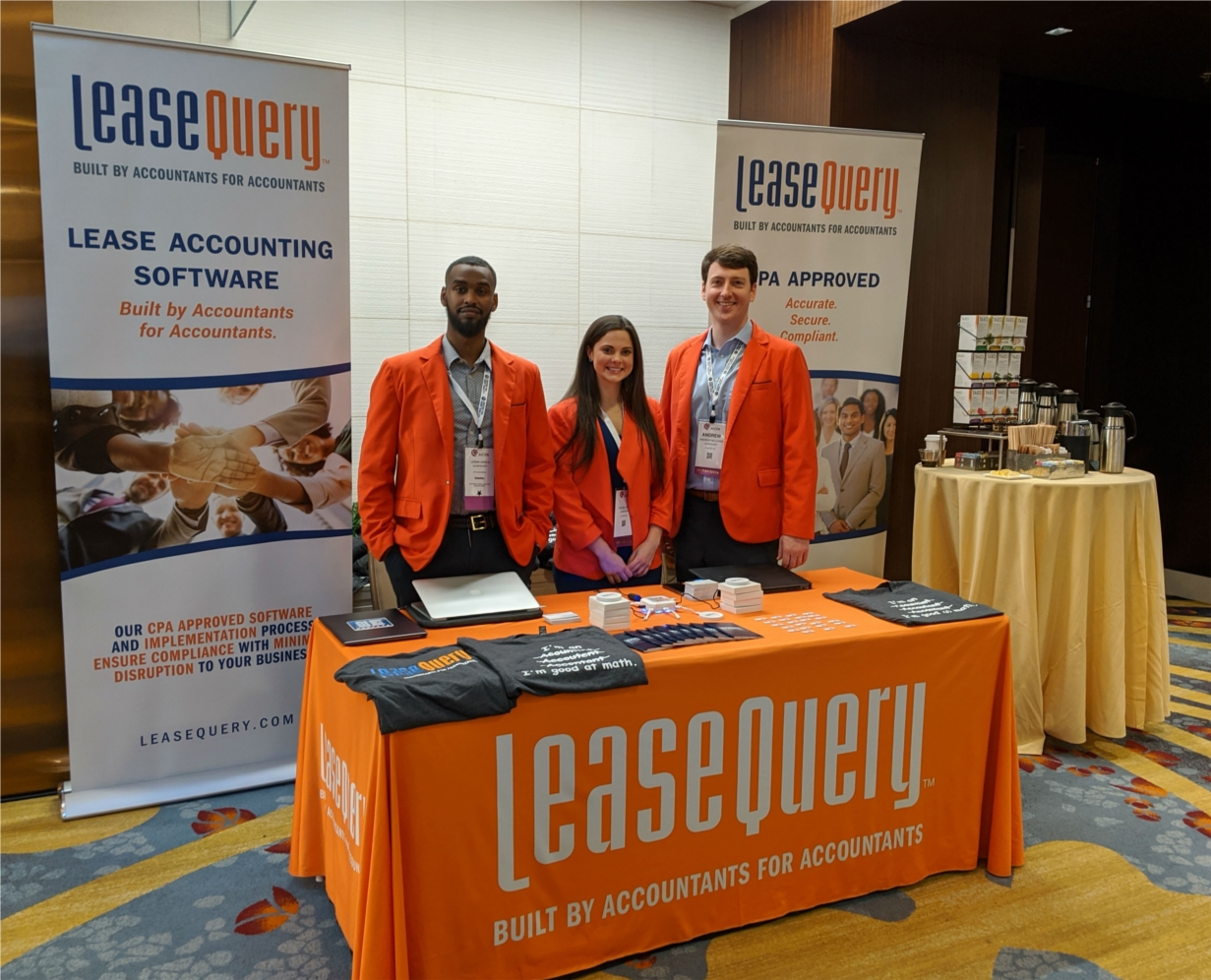 Three of our team members attended 2019's AICPA conference, where they showcased our software, our signature orange blazers, and our iconic swag.