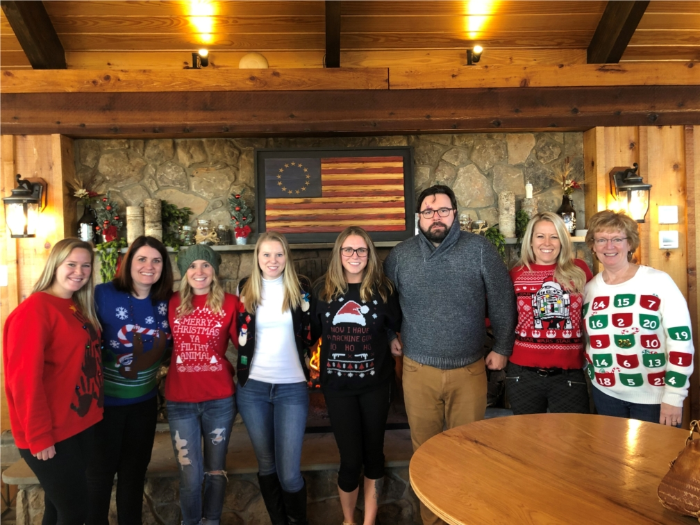 Ugly Sweater Contest 2019