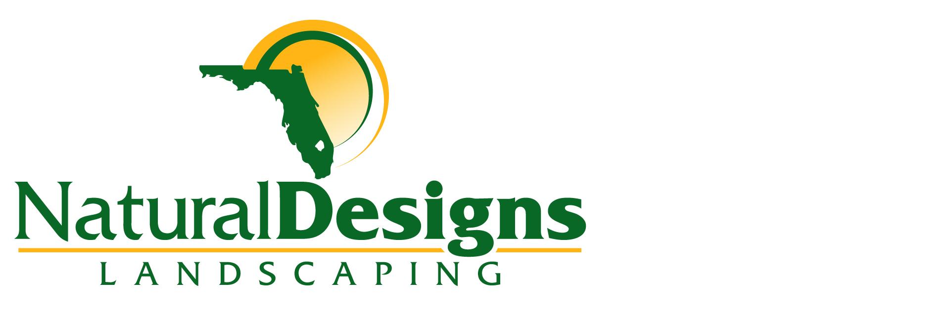 Natural Designs Landscaping Company Logo