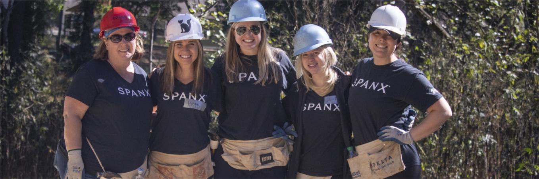 Spanx at 2019 Habitat for Humanity Build in Atlanta