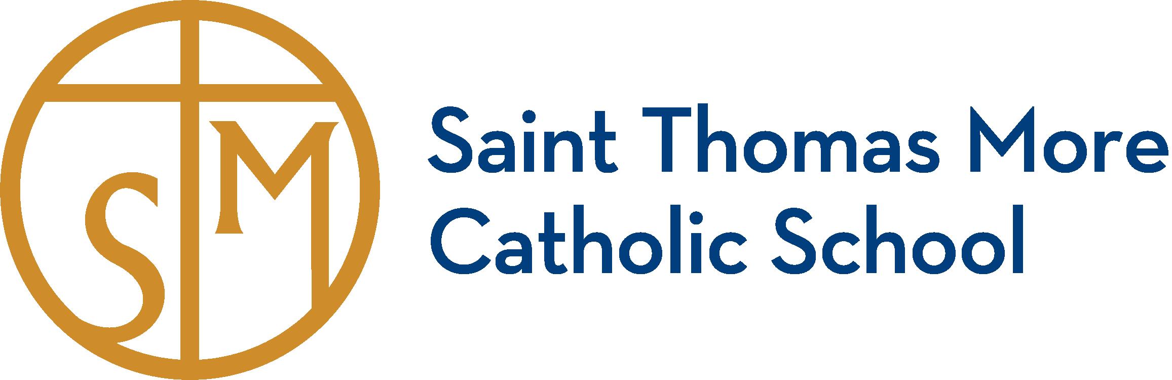 Saint Thomas More Catholic School Company Logo