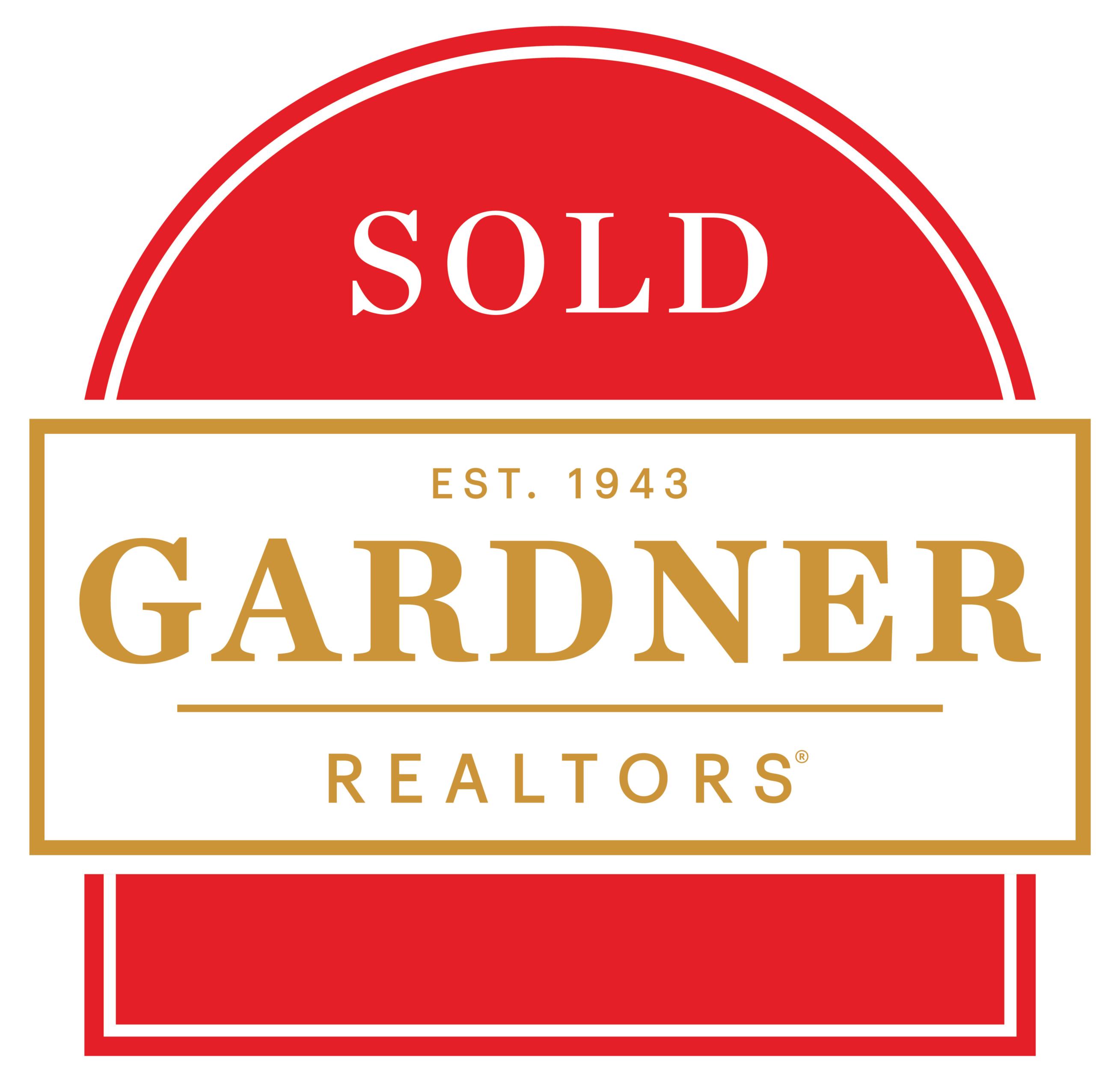 GARDNER, REALTORS logo