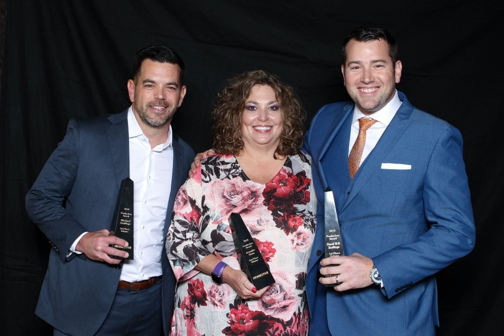 Our Top 3 Producers are all smiles at our Annual Awards and Recognition Celebration