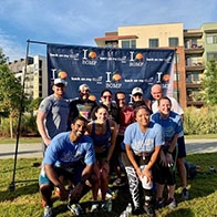 Consultants participated in a 5K for Back on My Feet to raise funds and awareness of homelessness.