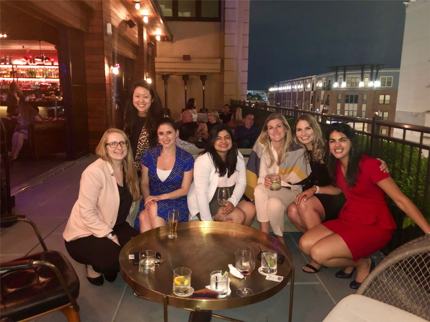 A group of consultants gather for a photo at the Annual Woman Consultant Dinner.