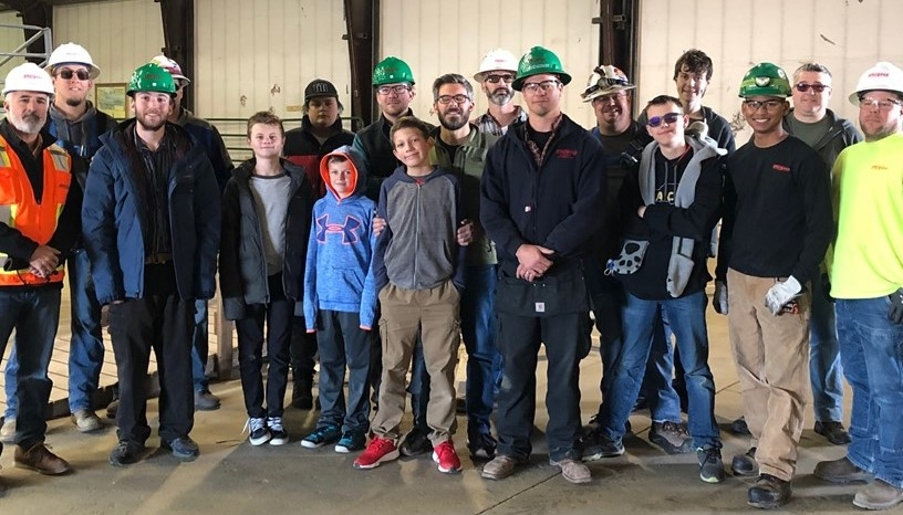 Sturgeon Electric Partnership with Teaching the Autism Community Trades (T.A.C.T.)