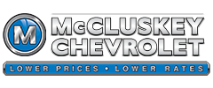 McCluskey Chevrolet logo